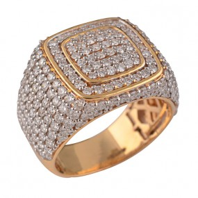 Men square ring