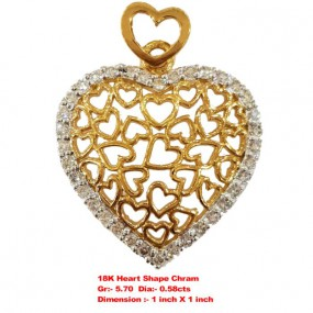 HEART SHAPE CHARM