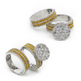 DIAMOND WEDDING SET 1