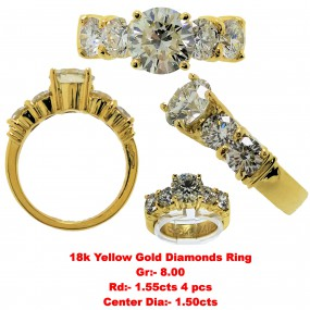 1.50 CRT DIAMOND RING