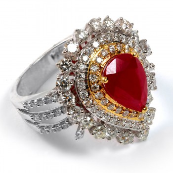 RUBY DIAMOND FEMALE RING